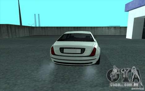 Cognoscneti do GTA 4 para GTA San Andreas traseira esquerda vista