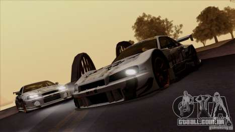 SA Beautiful Realistic Graphics 1.4 para GTA San Andreas por diante tela