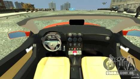 Alfa Romeo GTV Spider para GTA 4 vista direita