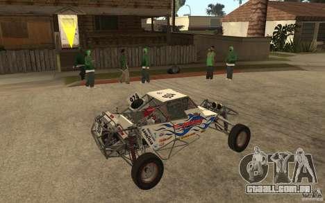 CORR Super Buggy 2 (Hawley) para GTA San Andreas vista direita