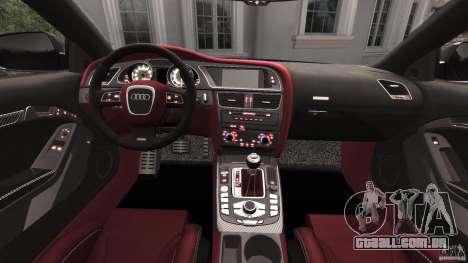 Audi RS5 2011 [EPM] para GTA 4 vista de volta