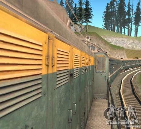 Tem2 para GTA San Andreas traseira esquerda vista