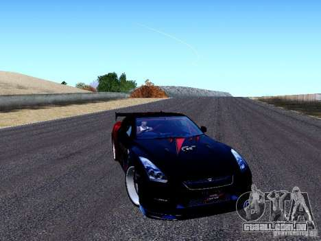Nissan Skyline R35 Drift Tune para GTA San Andreas