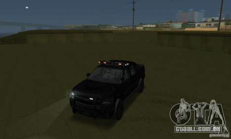 Luzes estroboscópicas para GTA San Andreas por diante tela