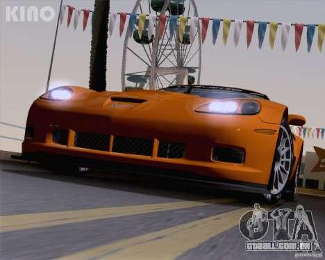 Chevrolet Corvette C6 Z06R GT3 v1.0.1 para GTA San Andreas vista inferior