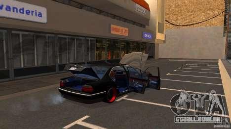 BMW E38 750LI para vista lateral GTA San Andreas
