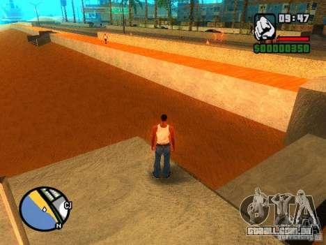 Texturas de praia de leste para GTA San Andreas terceira tela