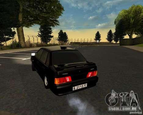 TJK VAZ 2115 para GTA San Andreas