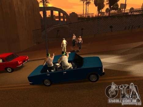 Vagosy-Grove para GTA San Andreas terceira tela