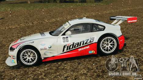 BMW Z4 M Coupe Motorsport para GTA 4 esquerda vista