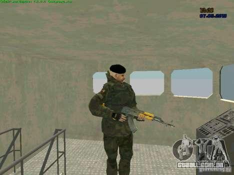 Marine RF para GTA San Andreas terceira tela