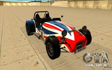 Caterham Superlight R500 para GTA San Andreas vista superior