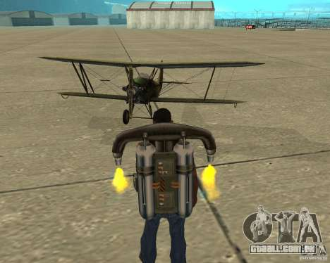 Na-2 para GTA San Andreas vista interior