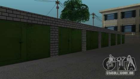 Estrutura de garagens e edifícios em SF para GTA San Andreas sétima tela