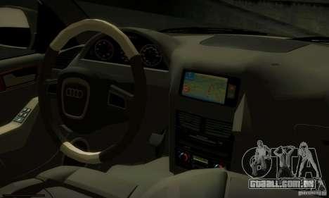 Audi Q5 TDi - Policija para GTA San Andreas vista traseira