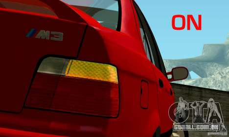 BMW M3 E36 para as rodas de GTA San Andreas