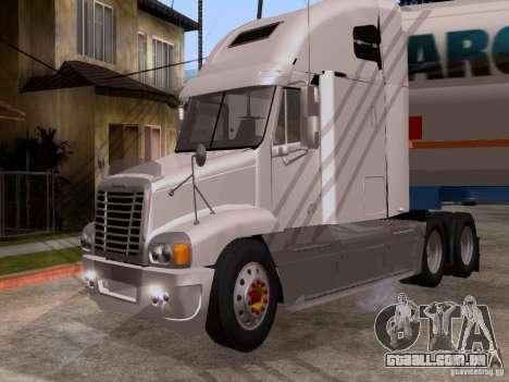 Freightliner Century para GTA San Andreas esquerda vista