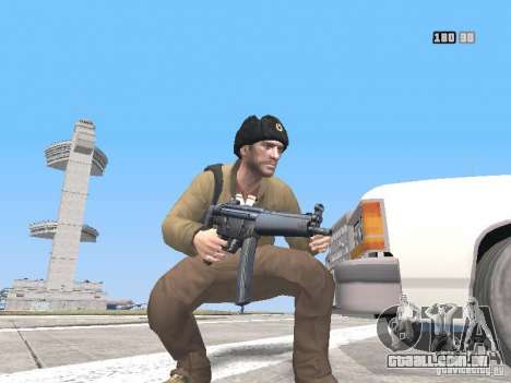 HQ Weapons pack V2.0 para GTA San Andreas décimo tela