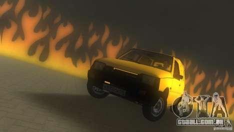 Seaz Pickup para GTA Vice City vista direita
