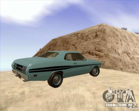 Dodge Demon 1971 para GTA San Andreas esquerda vista