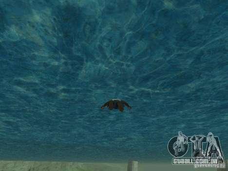 Água de textura para GTA San Andreas segunda tela