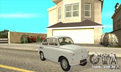 ZAZ-965 para GTA San Andreas vista traseira