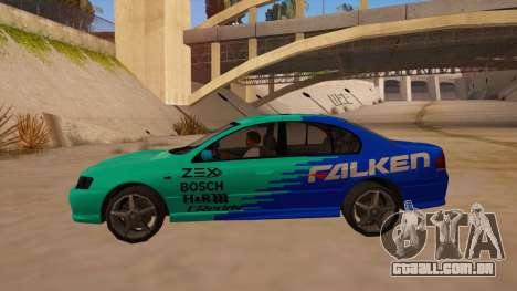 Ford Falcon XR8 2008 Tunable V1.0 para GTA San Andreas