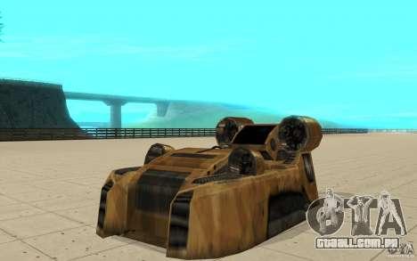 O vórtice do jogo comando e Conquer Renegade para GTA San Andreas