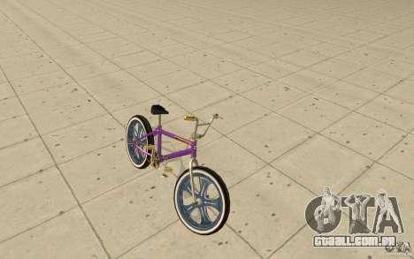 Spin Wheel BMX v1 para GTA San Andreas