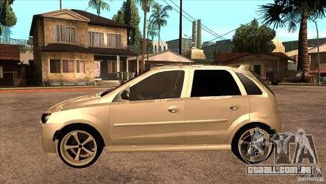 Opel Corsa Tuning Edition para GTA San Andreas esquerda vista
