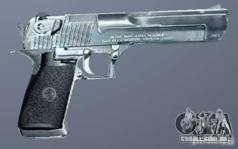Deserto águia de prata para GTA San Andreas