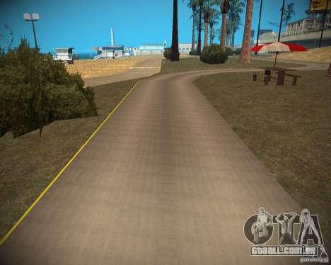 New textures beach of Santa Maria para GTA San Andreas sétima tela