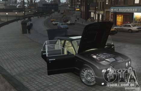 Bentley Arnage T v 2.0 para GTA 4 vista superior