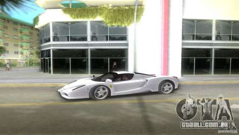 Ferrari Enzo para GTA Vice City deixou vista