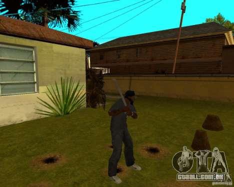 Tubulação de água para GTA San Andreas segunda tela
