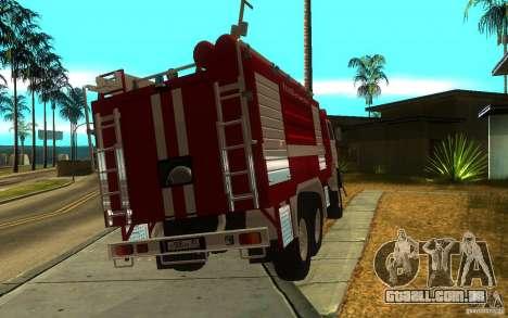 KAMAZ 43118 AC-7, 0-40 para GTA San Andreas esquerda vista