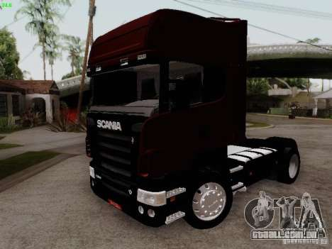 Scania R580 V8 Topline para GTA San Andreas