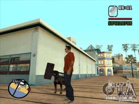 Martelo do WarCraft III para GTA San Andreas terceira tela