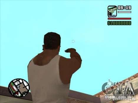 USP 45 para GTA San Andreas terceira tela