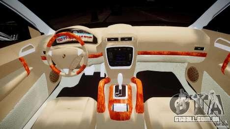 Porsche Cayenne 955 Turbo v1.0 para GTA 4 vista inferior