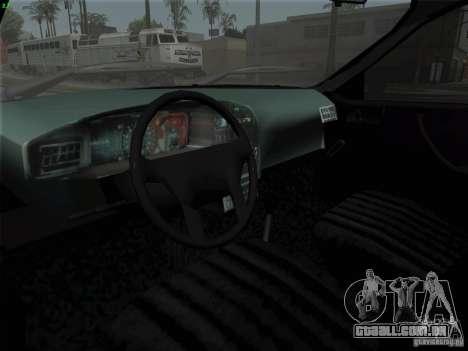 Dacia 1310 L Sport para GTA San Andreas vista traseira