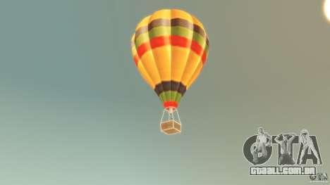 Balloon Tours original para GTA 4 traseira esquerda vista