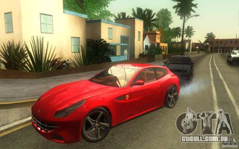 Ferrari FF para GTA San Andreas traseira esquerda vista