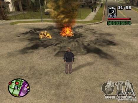 Overdose effects V1.3 para GTA San Andreas quinto tela
