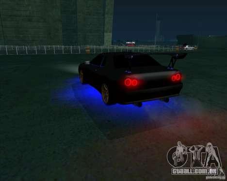 NEON mod para GTA San Andreas segunda tela
