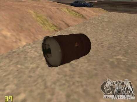 Bo4ka para GTA San Andreas por diante tela