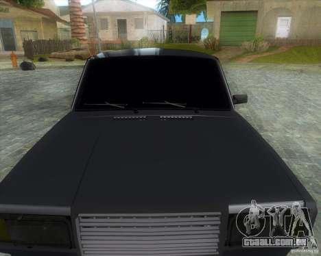 VAZ 2107 Drift Enablet Editional i3 para GTA San Andreas vista direita