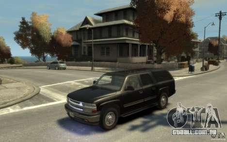 Chevrolet Suburban 2003 FBI para GTA 4