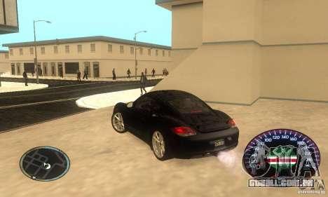 Chechen Speedometr para GTA San Andreas
