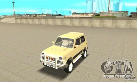 VAZ 21213 4 x 4 para GTA San Andreas